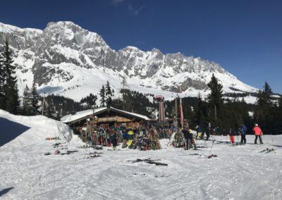 Hütte v oblasti Hochkönig