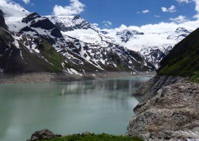 Kaprun - přehrada Mooserboden 2.036 m n.m.