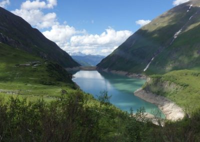 Kaprun - přehrada Wasserfallboden 1.672 m n.m.