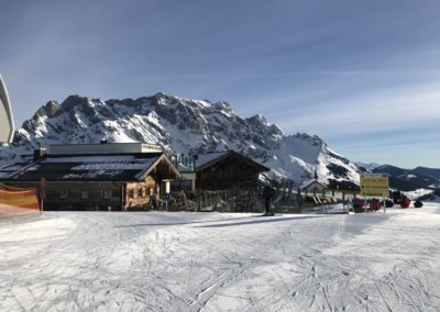 Steinbockalm v zimě