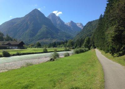 cyklistická stezka Saalfelden-Lofer