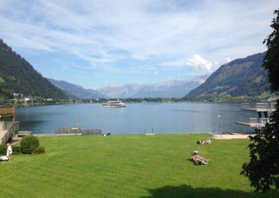 jezero v Zell am See