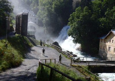vodopád Bad Gastein