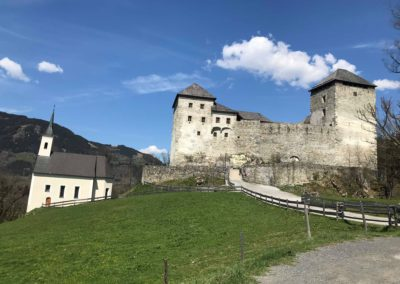 Kaprun - hrad