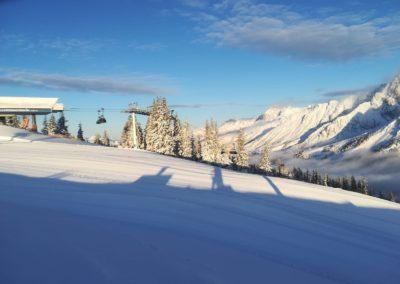bez lyžařů